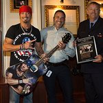 Bret Michaels Donates Guitar To Hard Rock In Tribute To First Responders