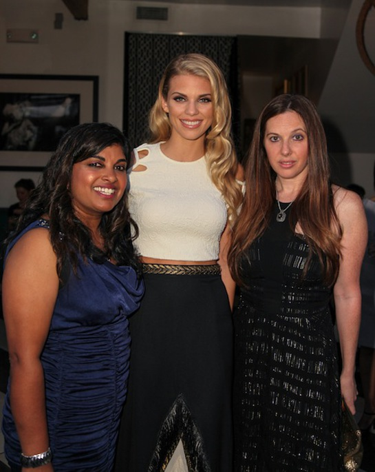 Rani Hong, AnnaLynne McCord and Amy Malin