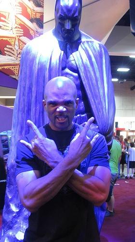 Darryl McDaniels at Comic Con