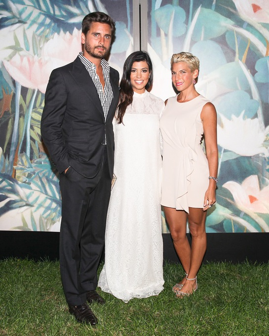 Scott Disick, Kourtney Kardashian and Jessica Seinfeld Attend Baby Buggy Summer Dinner