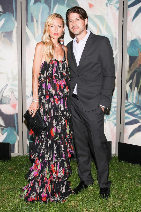 Rachel Zoe and Roger Berman