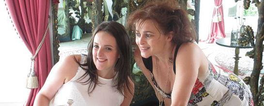 Shealyn Magill and Helena Bonham Carter