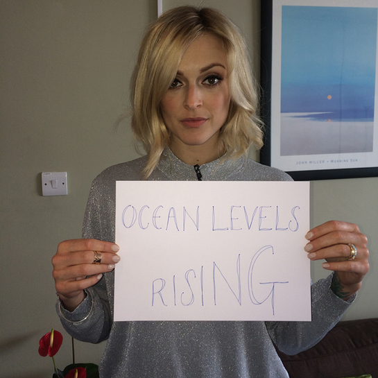Fearne Cotton Helps Meat Free Monday Campaign