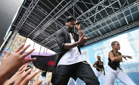 Ne-Yo performs at Boys & Girls Clubs of America's launch of the Great Futures Campaign
