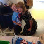Taylor Swift Visits Patients At Boston Children's Hospital