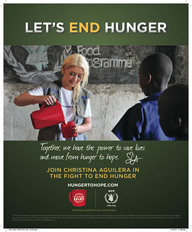 Let's End Hunger With Christina Aguilera