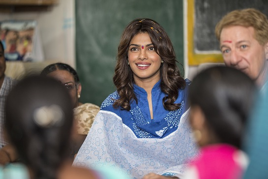 Priyanka Chopra Talks To Girls In India