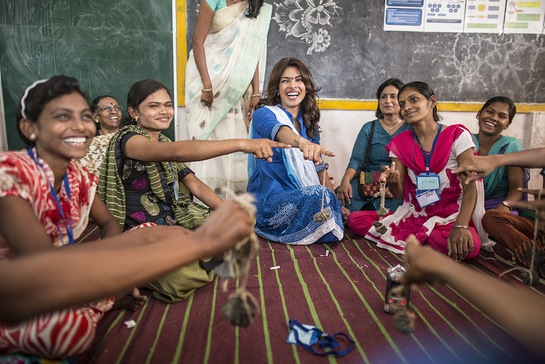 Priyanka Chopra Enjoys A Girls Empowerment Game