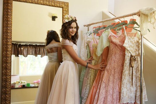 BAILEE MADISON OPENS HER CLOSET FOR CHARITY