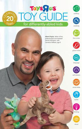 ALBERT PUJOLS SUPPORTs THE 2014 TOYSRUS TOY GUIDE FOR DIFFERENTLY-ABLED KIDS