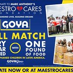 Goya Food Helps Marc Anthony's Charity