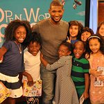 Usher Opens A New World For Children Through Reading