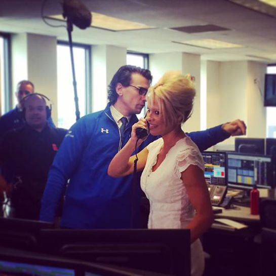 Pamela Anderson At BGC Charity Day In New York