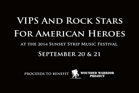 RockItSessions and Orphic Partner for VIPS and Rock Stars For American Heroes at the Sunset Strip Music Festival