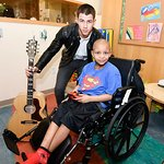 Nick Jonas Visits Children's Hospital At Montefiore