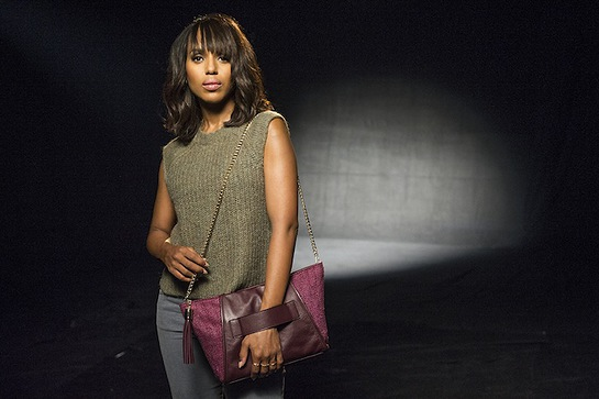 Kerry Washington designed the 2014 purple purse to raise awareness about domestic violence and financial abuse.