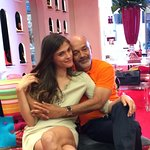 Meet Elisa Sednaoui and Christian Louboutin In Paris