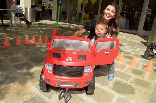 Ali Landry attends Favored.by's Red Carpet Safety Awareness Event