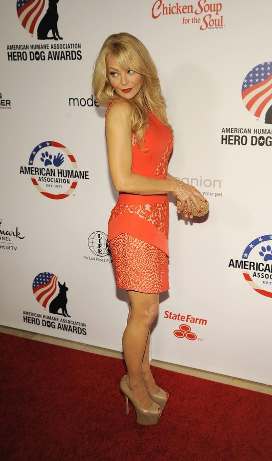 Charlotte Ross at Hero Dog Awards
