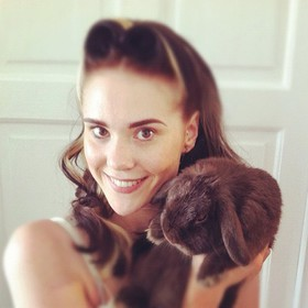 Kate Nash and Fluffy