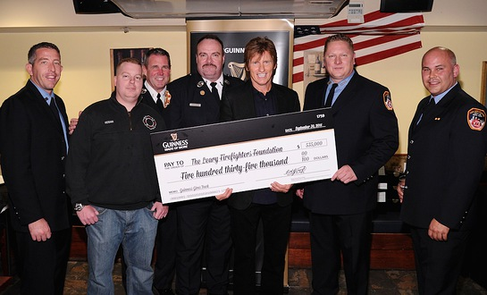 Denis Leary and New York Firefighters