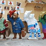 Stars Lend Their Artistic Talents to London's Paddington Trail