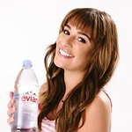 Lea Michele Partners With evian Natural Spring Water For Breast Cancer Campaign