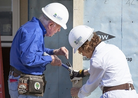 Jimmy Carter and his wife, Rosalynn, will help build and repair homes in Dallas and Fort Worth, Texas, this week