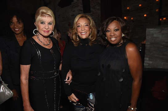 Ivana Trump, Denise Rich and Star Jones