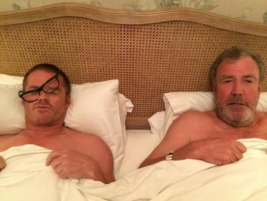 Heston Blumenthal and Jeremy Clarkson #WakeUpCall