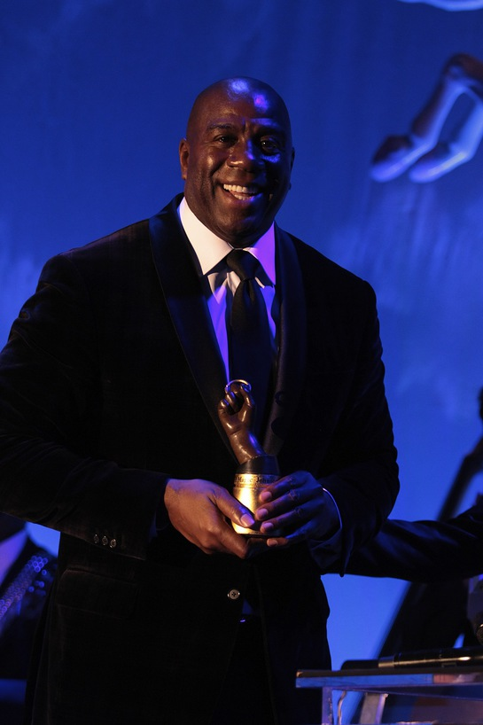 EARVIN MAGIC JOHNSON HONORED AT THE 2014 CAROUSEL OF HOPE BALL