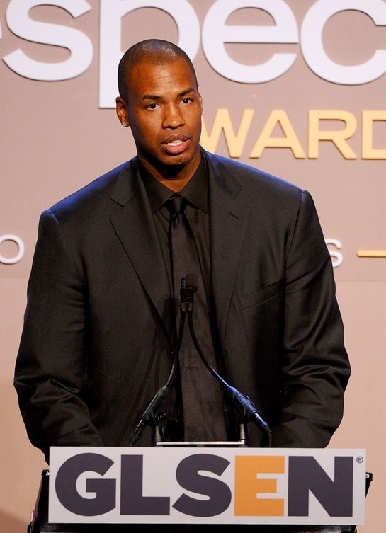 Jason Collins Talks At GLSEN Respect Awards
