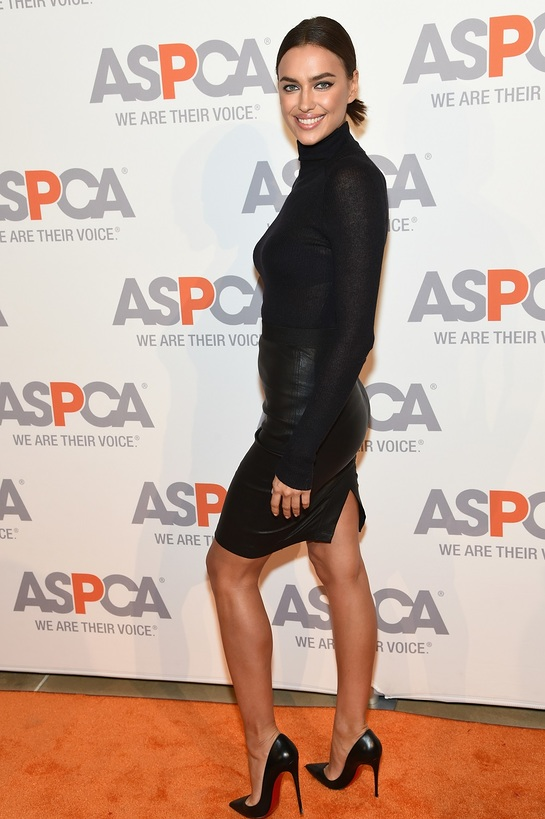Irina Shayk At ASPCA Young Friends benefit