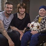 David Beckham Surprises Young Cancer Patient