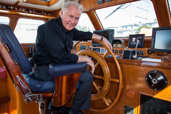 Martin Sheen unveiled the newest vessel in Sea Shepherd's fleet, the R/V Martin Sheen