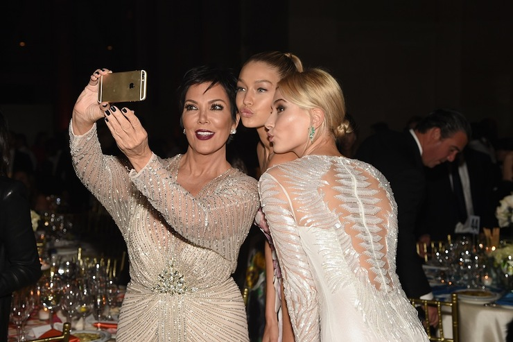 Kris Jenner at Gabrielle's Angel Foundation Angel Ball