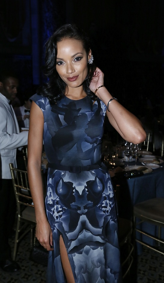 Selita Ebanks at the 2014 Global Leadership Awards Dinner