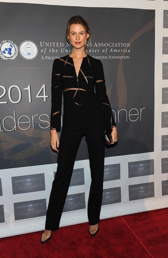 Behati Prinsloo at the 2014 Global Leadership Awards Dinner