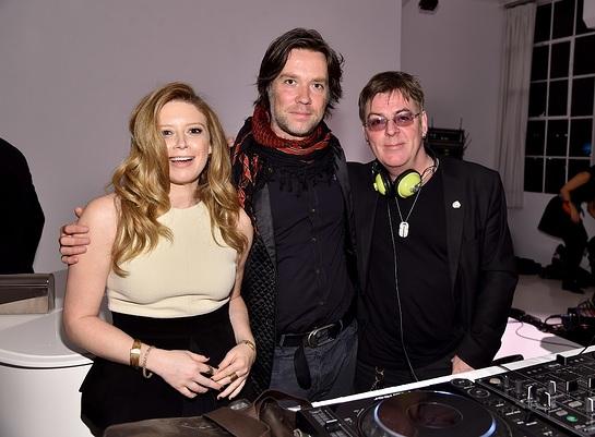 Rufus Wainwright, Natasha Lyonne and Andy Rourke
