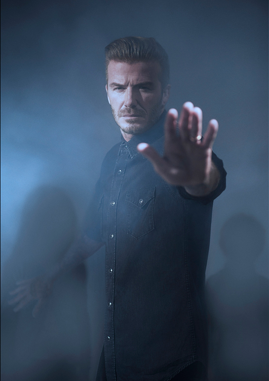 David Beckham UNICEF Photo Shoot