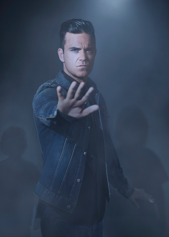 Robbie Williams UNICEF Photo Shoot