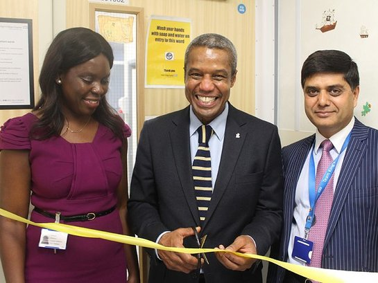Holby City Star Opens King's Variety Children's Unit