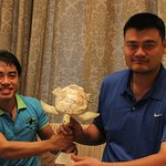 Yao Ming Tees Off With Marine Turtle Conservation Message