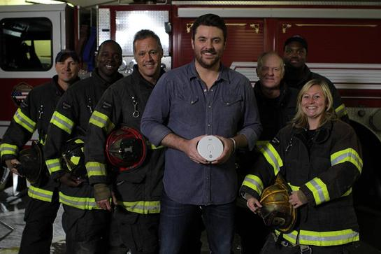 Chris Young and Kidde have partnered to shine a Spotlight on Fire Safety.
