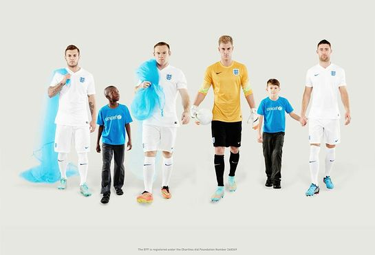 Wayne Rooney, along with Joe Hart, Gary Cahill and Jack Wilshere