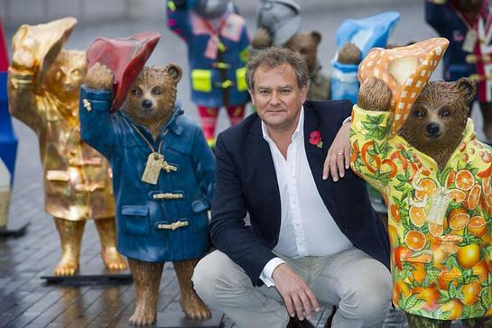 Hugh Bonneville attends the launch of The Paddington Trail in London
