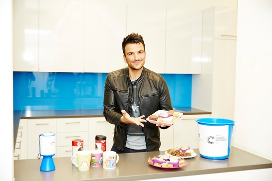 Peter Andre Hosts A Bake Sale For Pete's Champions