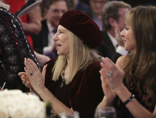 Barbra Streisand attends the Friends Of The Israel Defense Forces 2014 Western Region Gala
