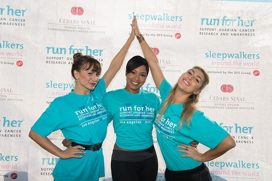 Karina Smirnoff, Alicia Quarles and Emma Slater