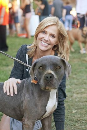 Tricia Helfer at the NKLA Adoption Weekend